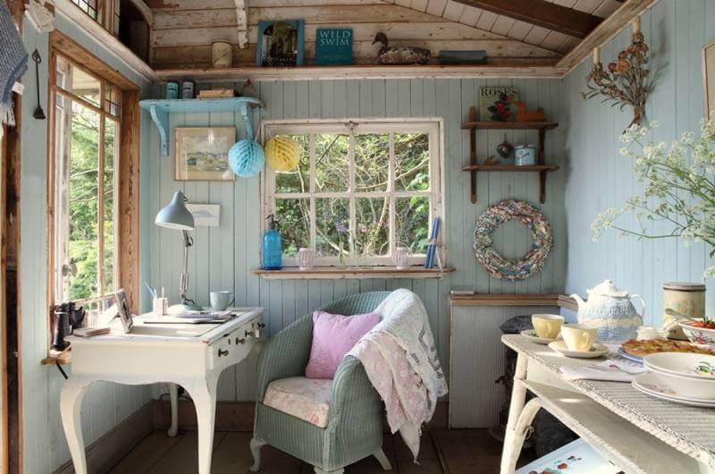 Стиль прованс в интерьере маленького дачного дома