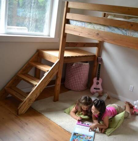 детское спальное место на даче