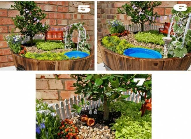 Как создать мини-сад в горшке своими руками