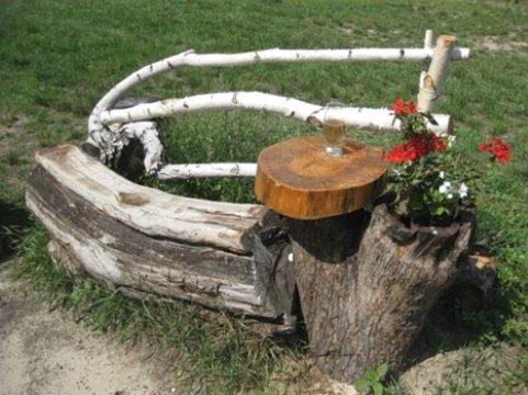 Идеи поделок из пней и коряг
