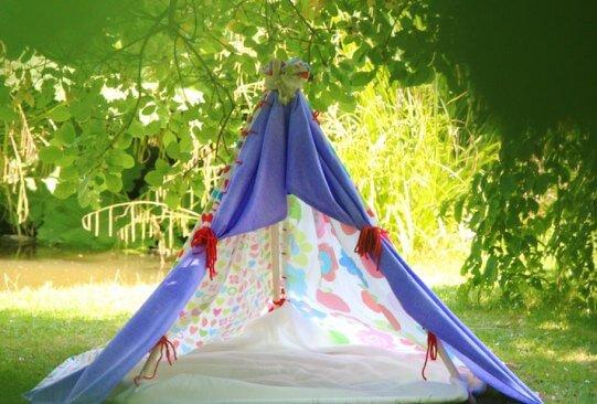 Строительство шатра для дачи своими руками
