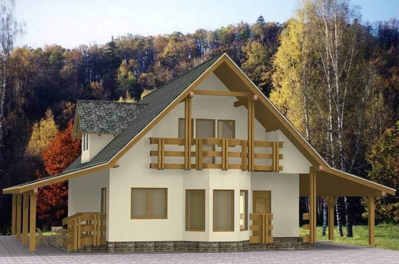 во всем мире каркасные дома строятся наиболее активно благодаря своим уникальным характеристикам, простоте и скорости возведения