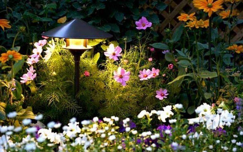 От чего зависит выбор фонарей для сада