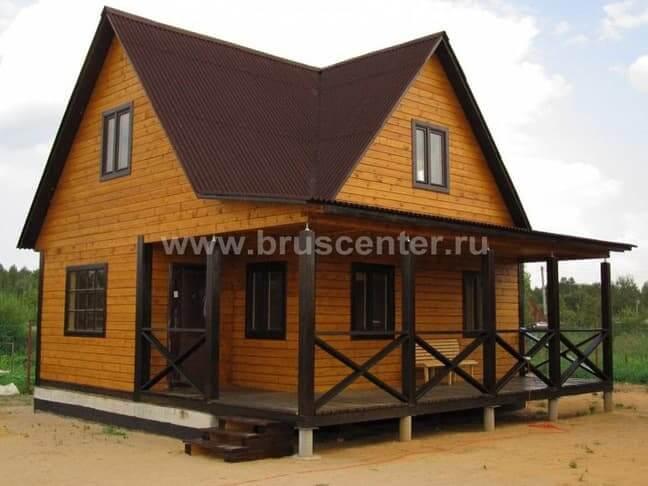 Как построить дачный дом быстро и недорого