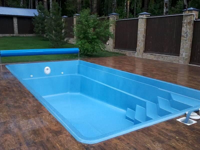 Преимущества композитных бассейнов