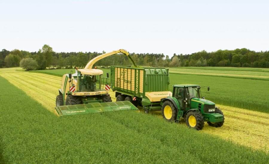 Использование навесного оборудования в сельском хозяйстве